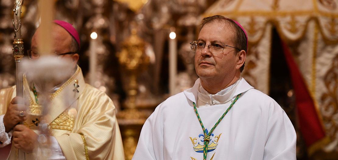 النائب الرسولي في طرابلس الغرب جورج بوجيا