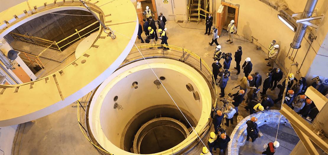 مفاعل آراك الإيراني للماء الثقيل