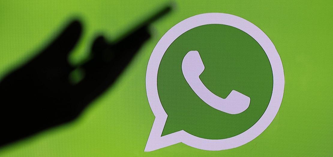 شعار تطبيق واتساب للرسائل النصية (أرشيف رويترز)
