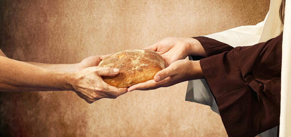 يا يسوع الطيّب، نحن اليوم أيضًا جياع، فاكسر كل يوم هذا الخبز للجائعين