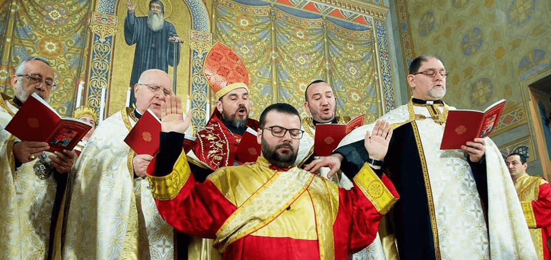 جانب من الرسامة الكهنوتية