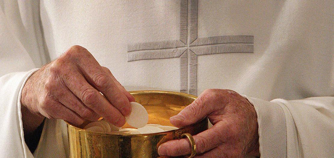 أيها الخبز السماوي، نطلب إليك أن يكون جسدك ودمك الأقدسان دواء لضعفنا البشري وحافزًا لنا للقداسة