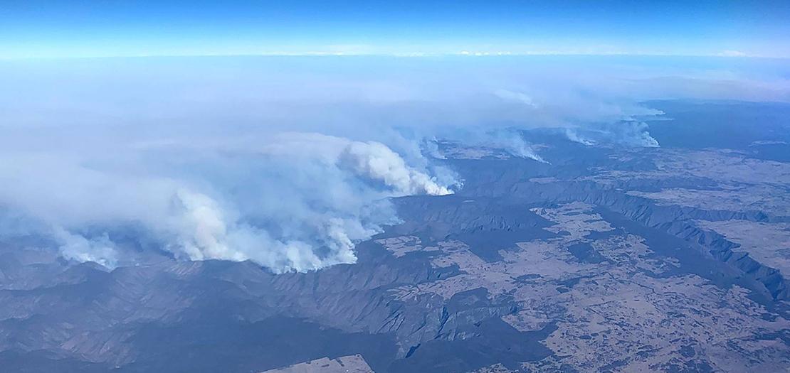 """كافح عناصر الإطفاء المتطوعون الحرائق يوميًا في ما وصف بـ""""صيف استراليا الأسود"""""""