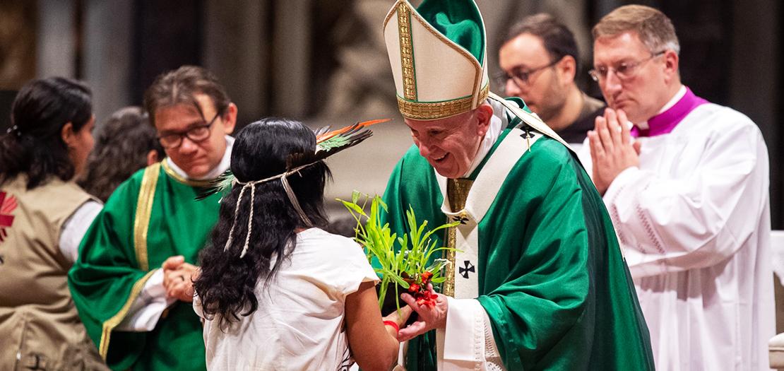 يقول البابا: أحلم بأمازون يحافظ على تلك الثروة الثقافية التي تميّزه، وحيث يسطع جمال الإنسان بأشكاله المتنوعة