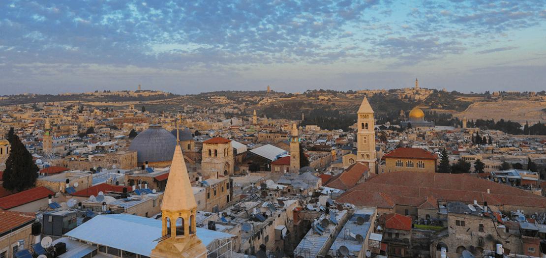 مدينة القدس (تصوير: عفيف عميرة)