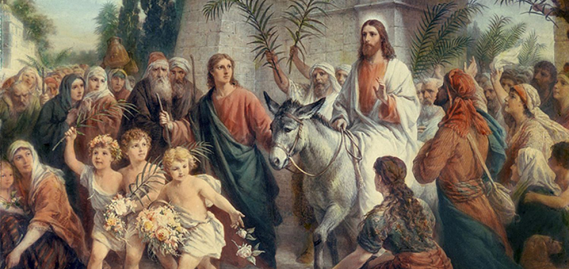 """لا يزال يسوع إلى اليوم راكبًا الحمار ينتظر الدخول إلى """"أورشليم"""" كل واحدٍ منا"""