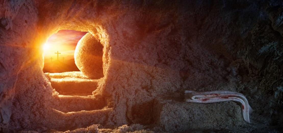 واستَراحَ المَسيحُ في اليَومِ السّابِع