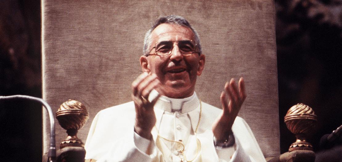 البابا يوحنا بولس الأوّل - ألبينو لوتشاني (26 آب 1978 – 28 أيلول 1978)