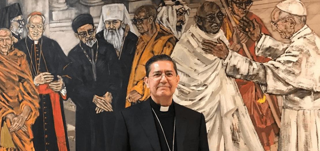 الكاردينال ميغيل أنخيل أيوزو غويكسوت، رئيس المجلس البابوي للحوار بين الأديان