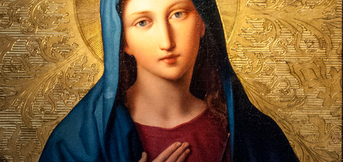 يا مريم سلامٌ لكِ