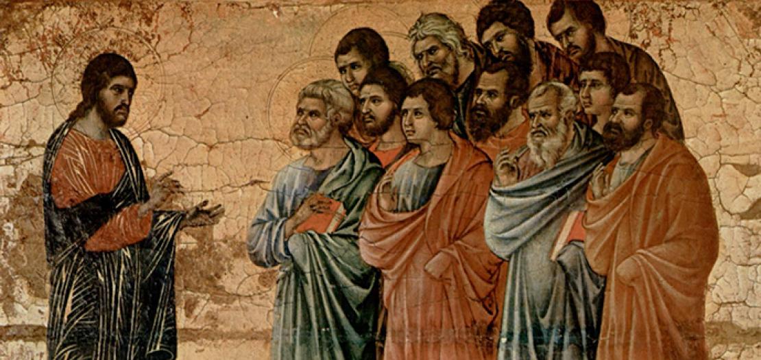 في إنجيل اليوم، الذي هو مقطع من خطاب يسوع الوداعي لتلاميذه ليلة العشاء الآخير، نسمعه يوجه إرشاداته إلى رسله وكيف عليهم أن يعيشوا وأيَّ الطُّرقَ يسلكوا، بعد أن يغيب عنهم
