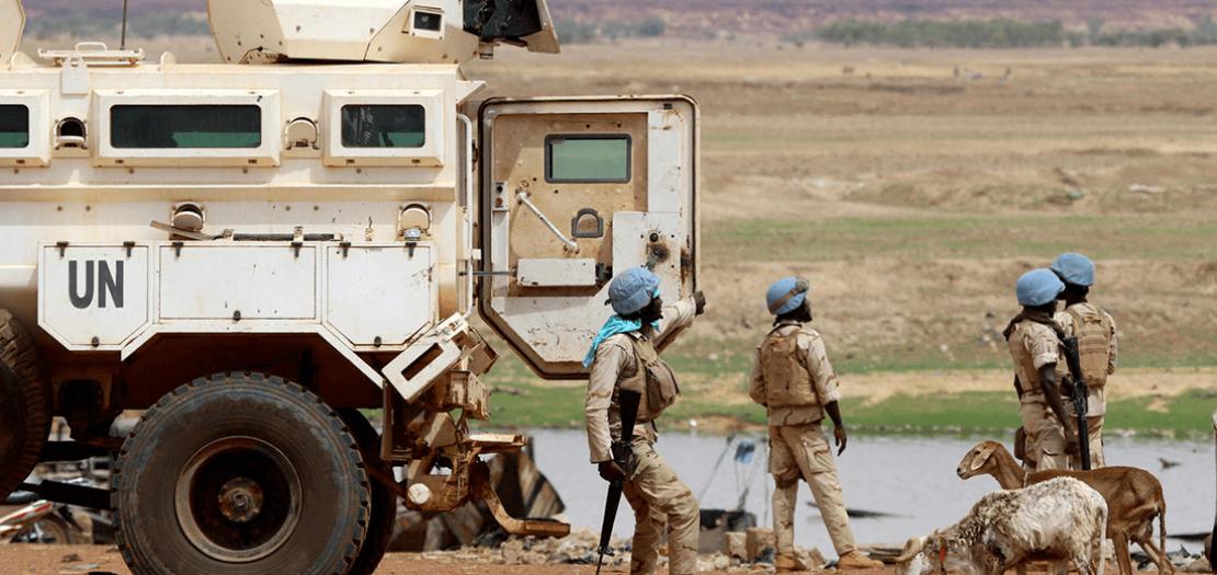 جنود من مهمة حفظ السلام في مالي، (صورة من الارشيف)