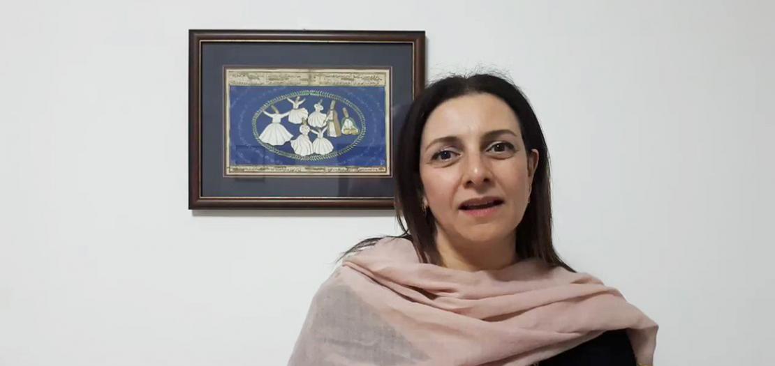 """د. نايلا طبارة، مديرة معهد """"أديان"""""""