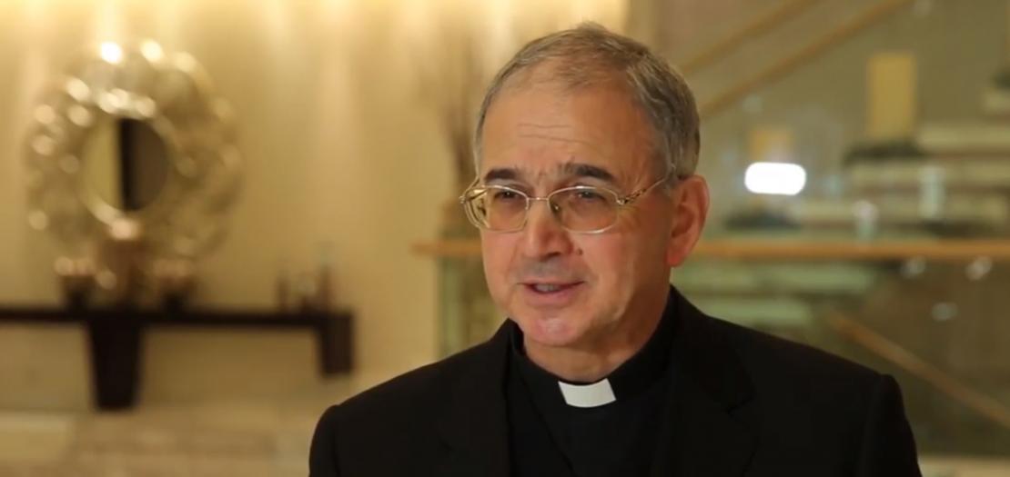 المونسنيور خالد عكشة، أمين سر لجنة العلاقات الدينية مع المسلمين، في المجلس البابوي للحوار بين الأديان