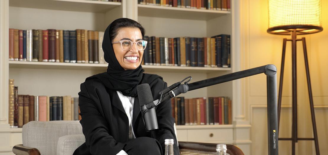 نورة الكعبي، وزيرة الثقافة والشباب، بدولة الإمارات العربيّة المتحدة