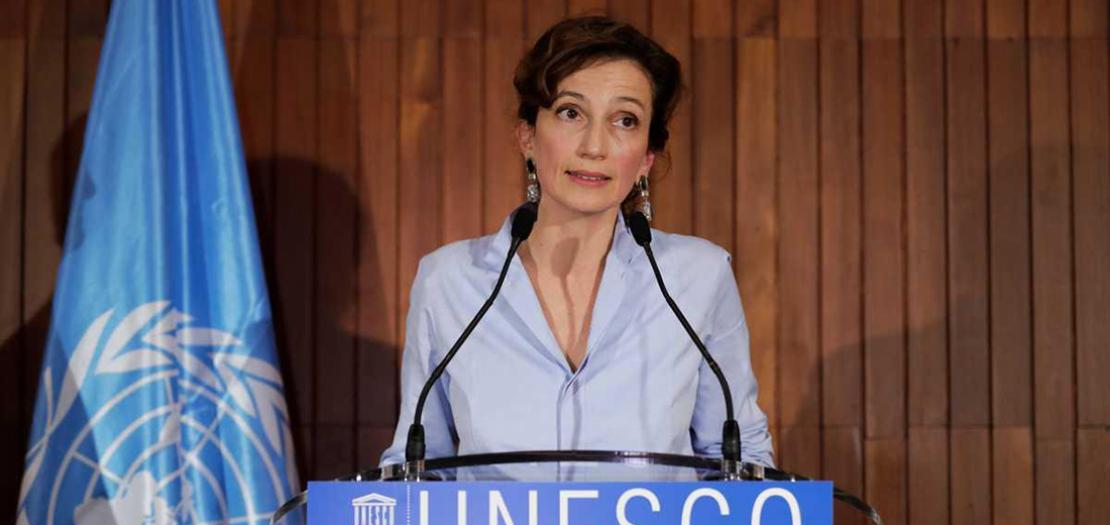 المديرة العامة لليونسكو أودري أزولاي