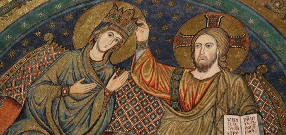 فلنتوجه إلى مريم ونطلب منها نعمة أن نكون دائمًا مرتفعين عن الأرضيات