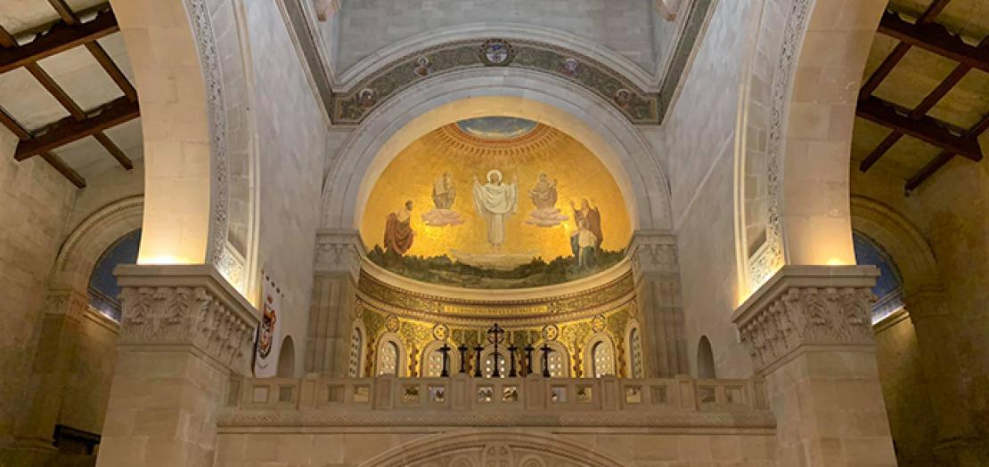 كنيسة التجلي على جبل طابور