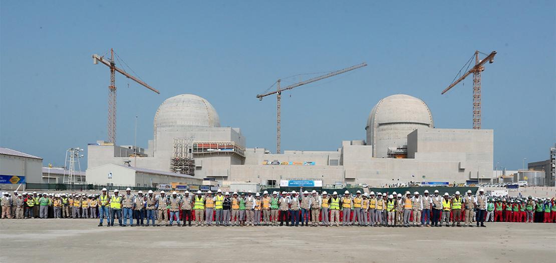 محطة براكة النووية في الظفرة