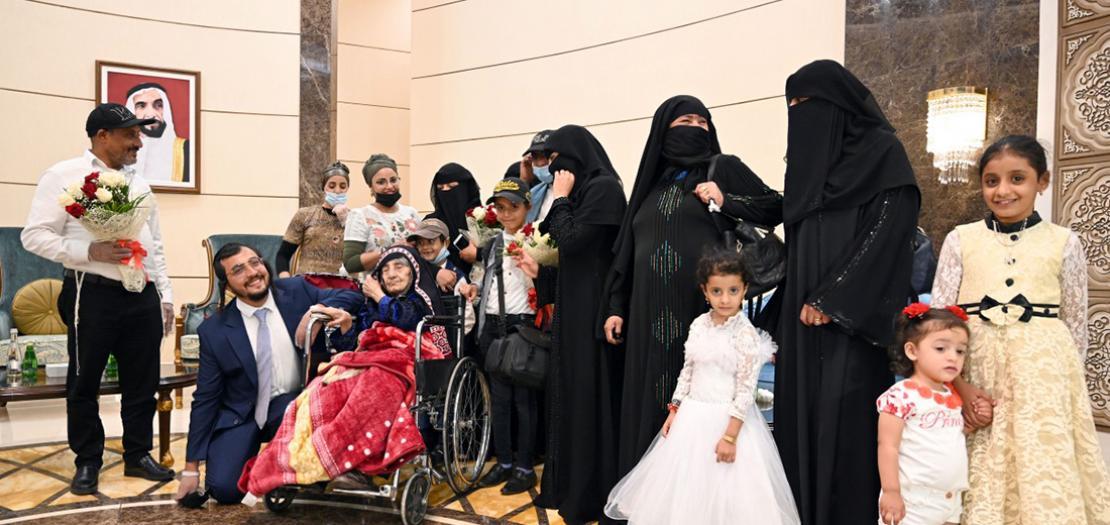 جانب من اللقاء الإنساني للعائلة اليمنية