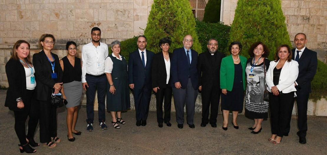 عائلة مجلس كنائس الشرق الأوسط تودّع بشعلاني، بعد ثلاث سنوات من توليها سدة المسؤوليّة