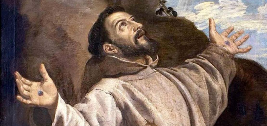 لم يدخل القديس فرنسيس التاريخ، بل صنع تاريخًا بحياته واتحاده بيسوع المسيح المخلص