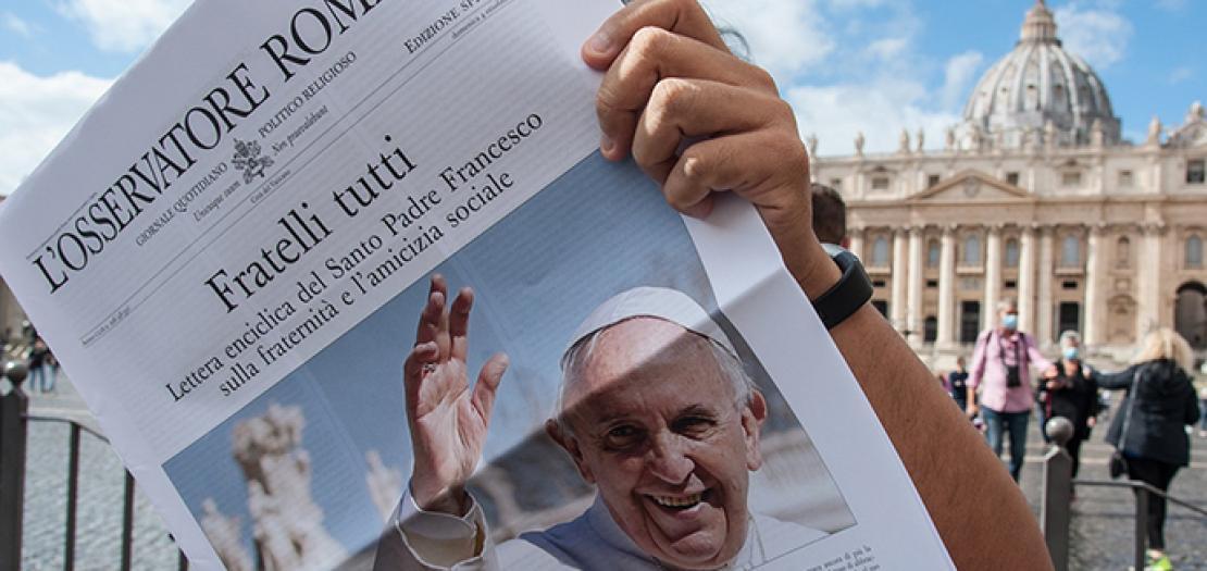 """مفهومُ """"الأخوّة"""" عند البابا فرنسيس (3)"""