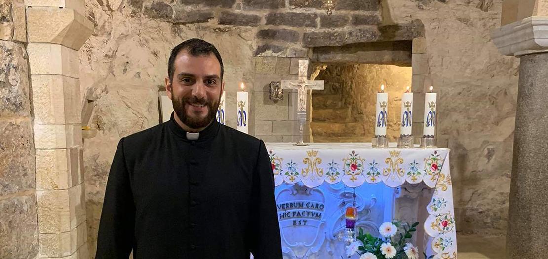 الشدياق رامز ماريو طوال - إكليريكيّة البطريركيّة اللاتينيّة في بيت جالا (فلسطين)