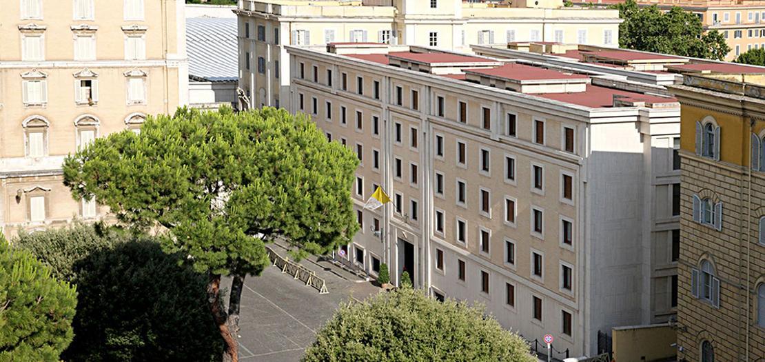 بيت القديسة مرتا، مقر إقامة البابا فرنسيس