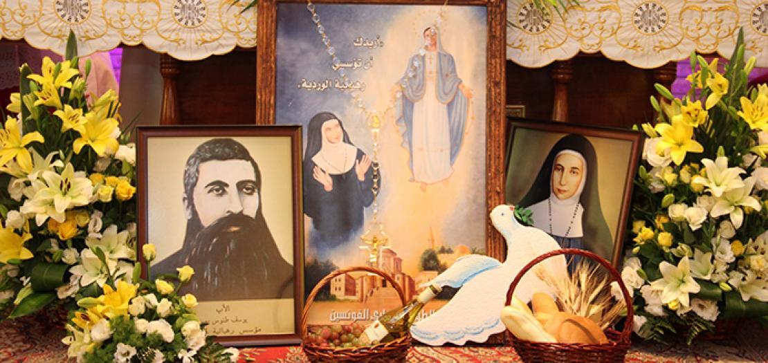 نُفوسٌ كثيرة أيتها القديسة تسعى اليوم أن تسلُك في مشوار قداستِها وسط الكنيسة