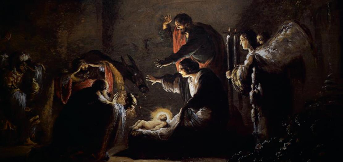 نُصلّي في ميلادِ المسيح، أنْ نتعلَّمَ قيمةَ هذا السَّرِ الإلهيّ الإنسانيّ، سرّ اللقاء الصَّامِتْ، سرّ المحبَّة المطلق
