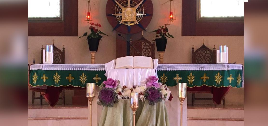 كلمتك مصباح لخطاي ونور لسبيلي (الصورة: من كنيسة قلب يسوع الأقدس للاتين في منطقة تلاع العلي - عمّان / أبونا)