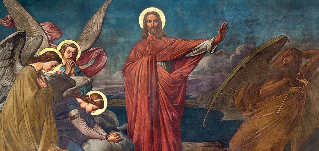 «ما لَنا وَلَكَ يا يَسوعُ ٱلنّاصِرِيّ؟ أَجِئتَ لِتُهلِكَنا؟ أَنا أَعرِفُ مَن أَنت: أَنتَ قُدّوسُ ٱلله»