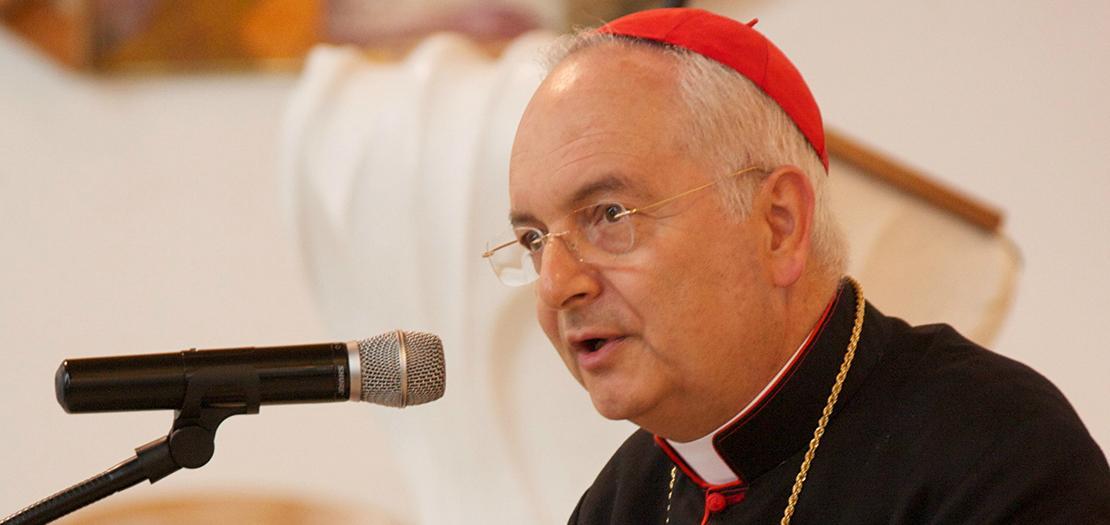 الكاردينال ماورو بياشينزا، رئيس محكمة التوبة الرسولية