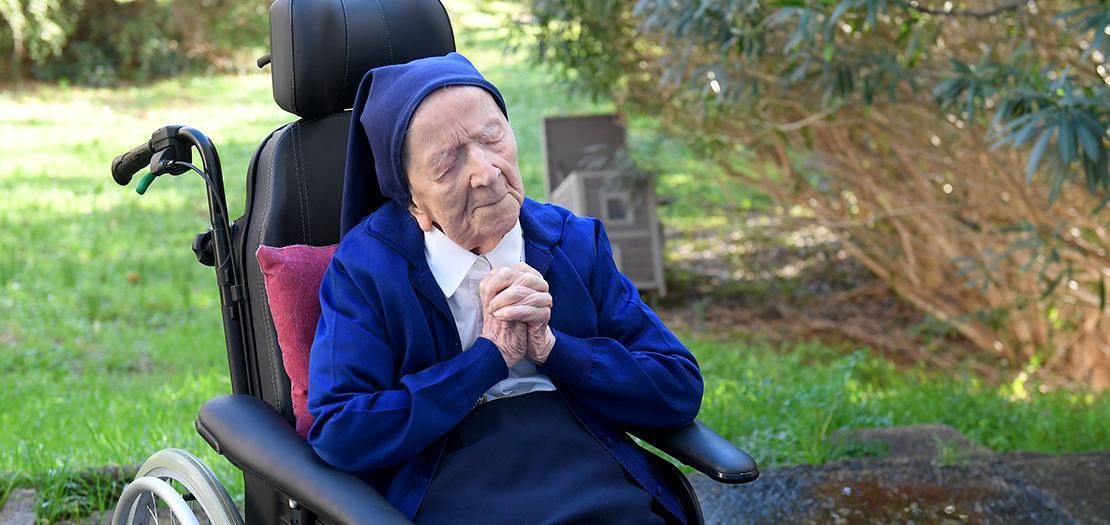 لأخت أندريه كفيفة وتستعين بمقعد متحرك، وتتطلع الآن للاحتفال بعيد ميلادها يوم الخميس