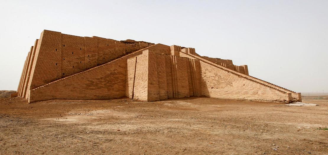 موقع أور التاريخي في العراق