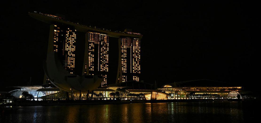 """إحياء فاعليات """"ساعة الأرض"""" في سنغافورة"""
