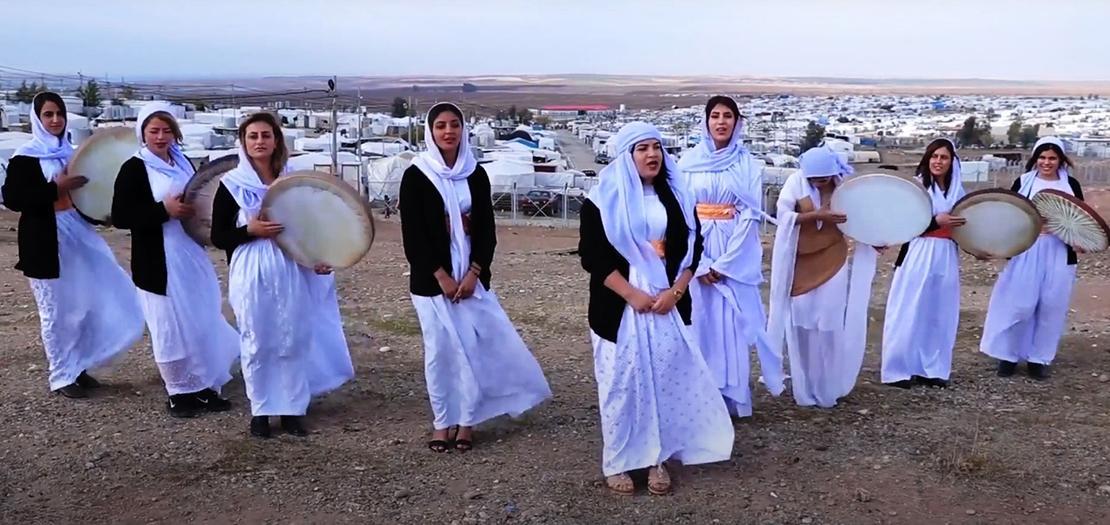 مخيم خانكي في محافظة دهوك يضم آلاف اللاجئين