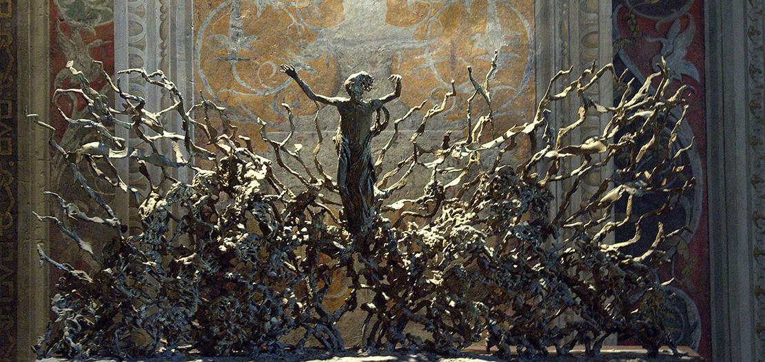 مشهد القيامة من للفنان بيريكليه فاتزيني، المتحف الفاتيكاني، 1970