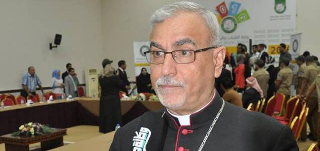 المونسنيور بيوس قاشا، راعي كنيسة السريان الكاثوليك في بغداد