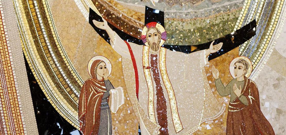 "ما بين ""دَمِ يسوعَ"" و""دَمعِ مريمَ"""