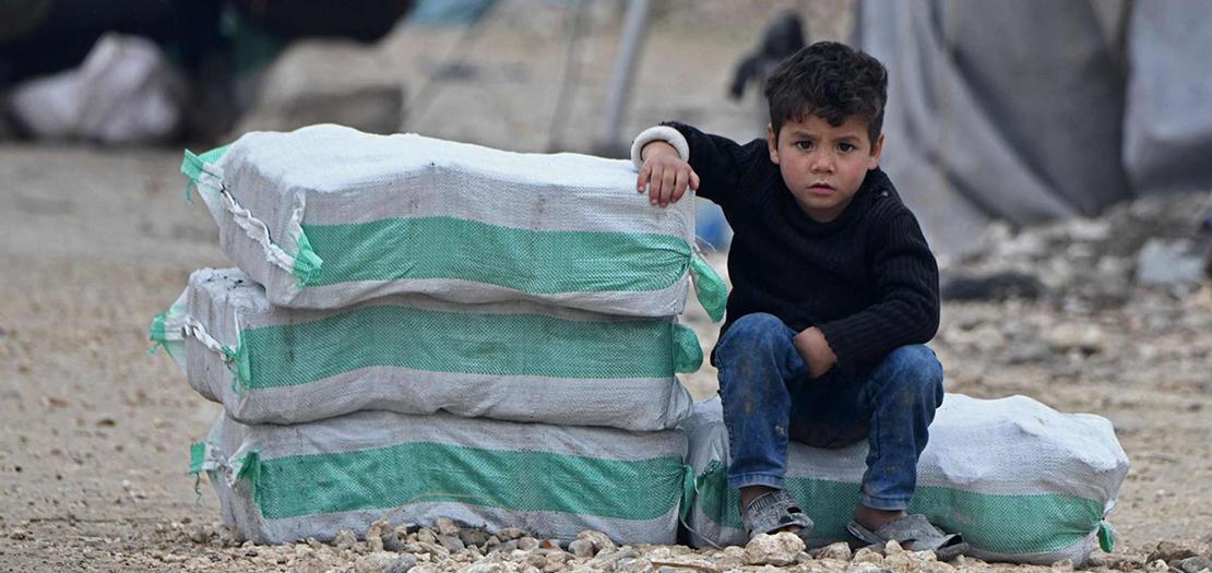 المعونات الدولية لسوريا