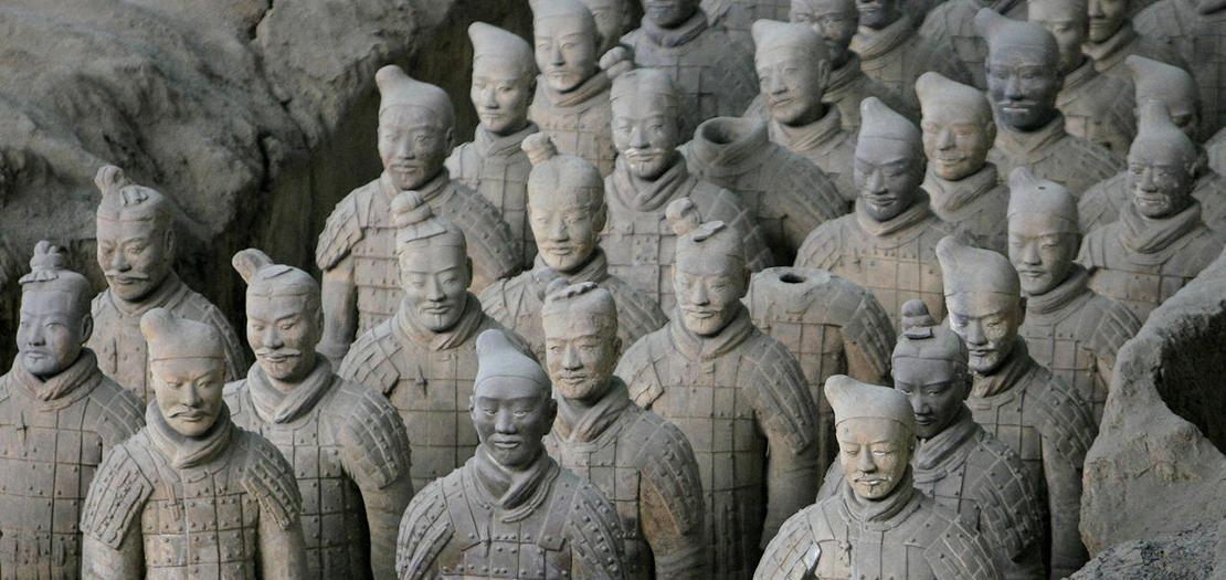 تماثيل جيش تيراكوتا العظيم في الصين