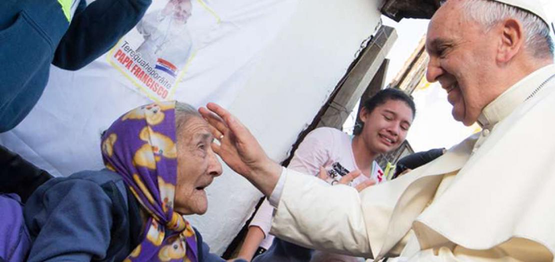 في رسالة قداسة البابا فرنسيس في مناسبة اليوم العالمي الأوّل للأجداد وكبار السّن