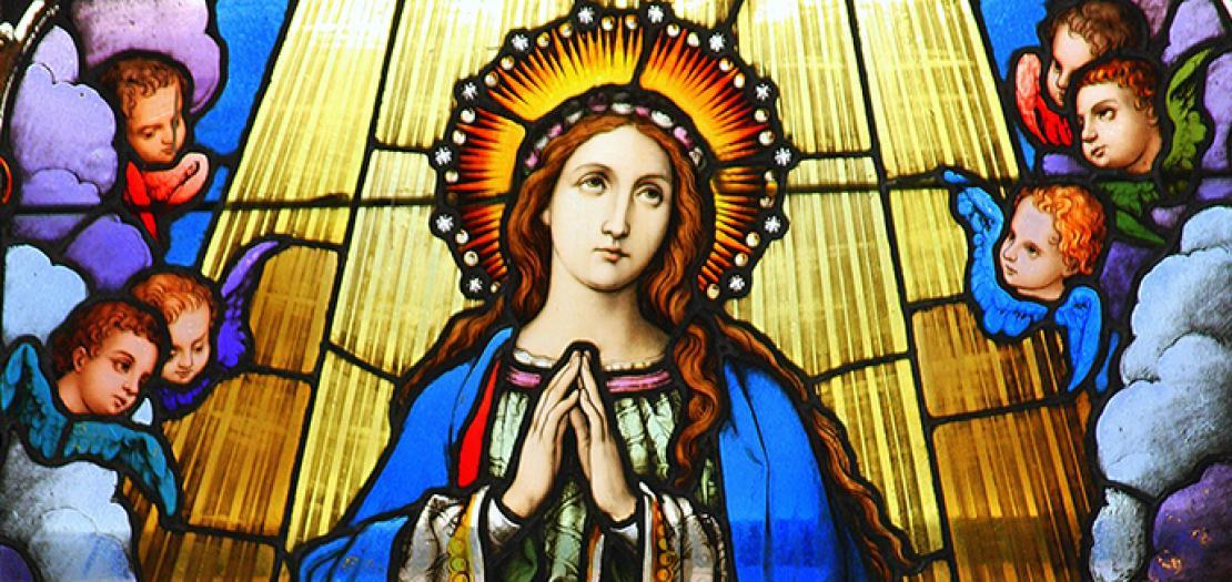 مريم، تابوت العهد القائم في هيكل السماوات