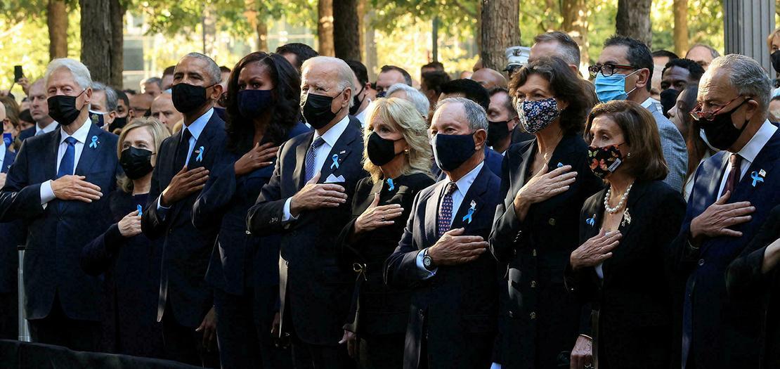 الولايات المتحدة تكرم ضحايا 11 أيلول سبتمبر في الذكرى العشرين للهجمات