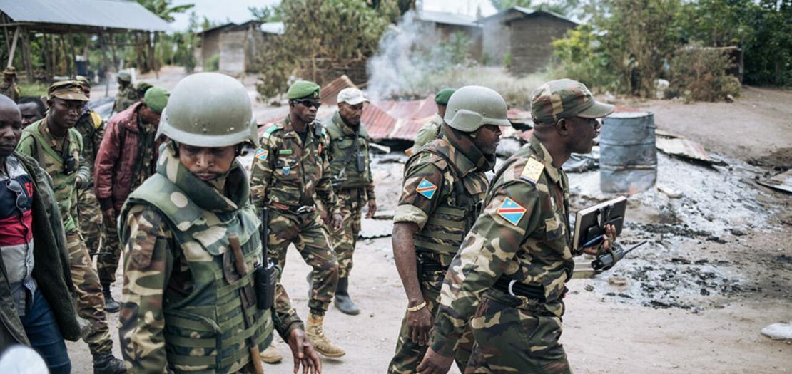 عناصر من جيش الكونغو