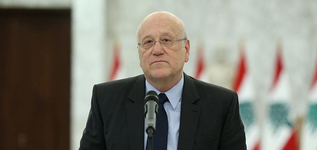 رئيس الجمهورية كلّف ميقاتي بتشكيل الحكومة في 26 تموز، بعد اعتذار الزعيم السني سعد الحريري