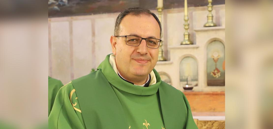 الأب د. يعقوب رفيدي (تصوير: نادين بياضي)