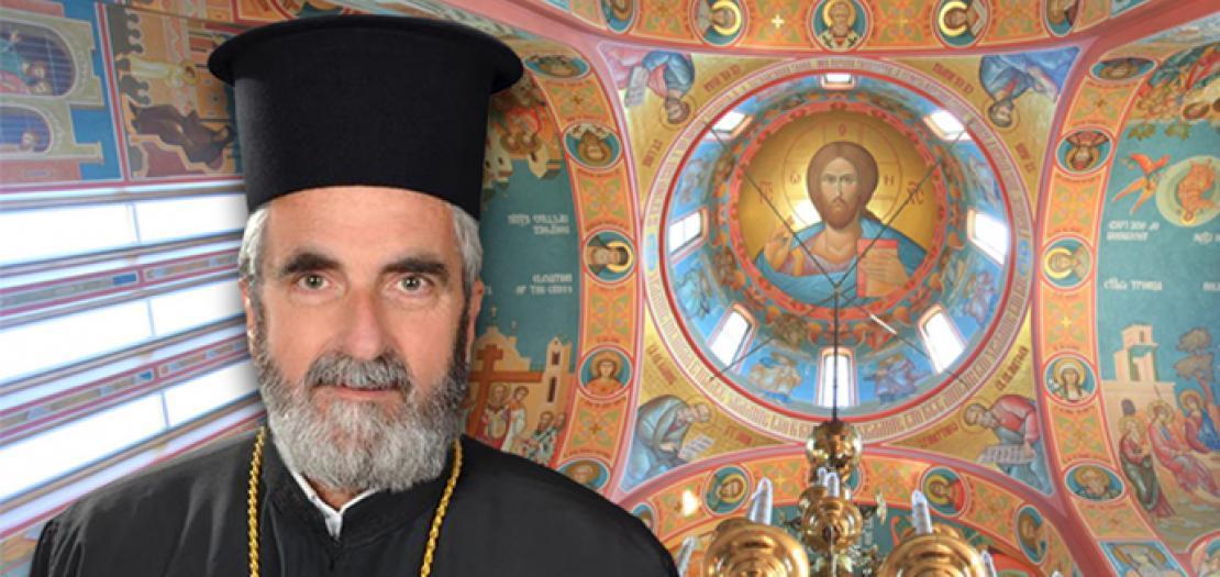 """الأب بطرس جنحو، راعي كنيسة """"دخول السيد المسيح إلى الهيكل"""" للروم الأرثوذكس - عمّان"""